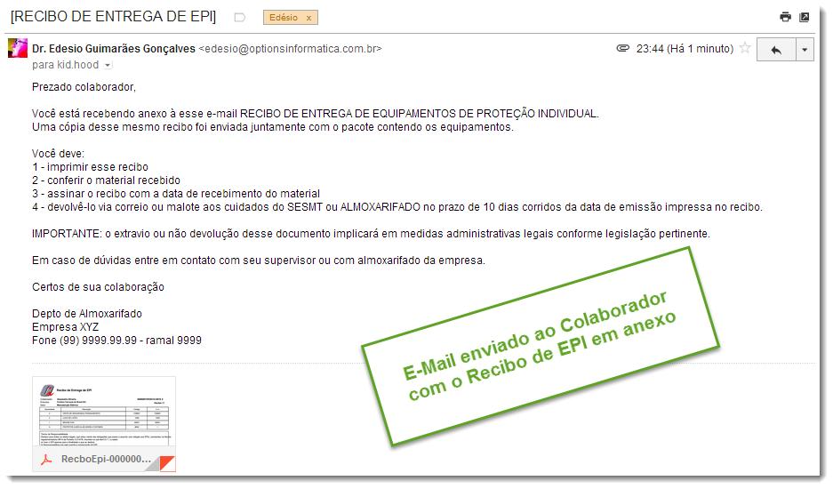 f2907e4157d94 Módulo de EPI » Options Informática